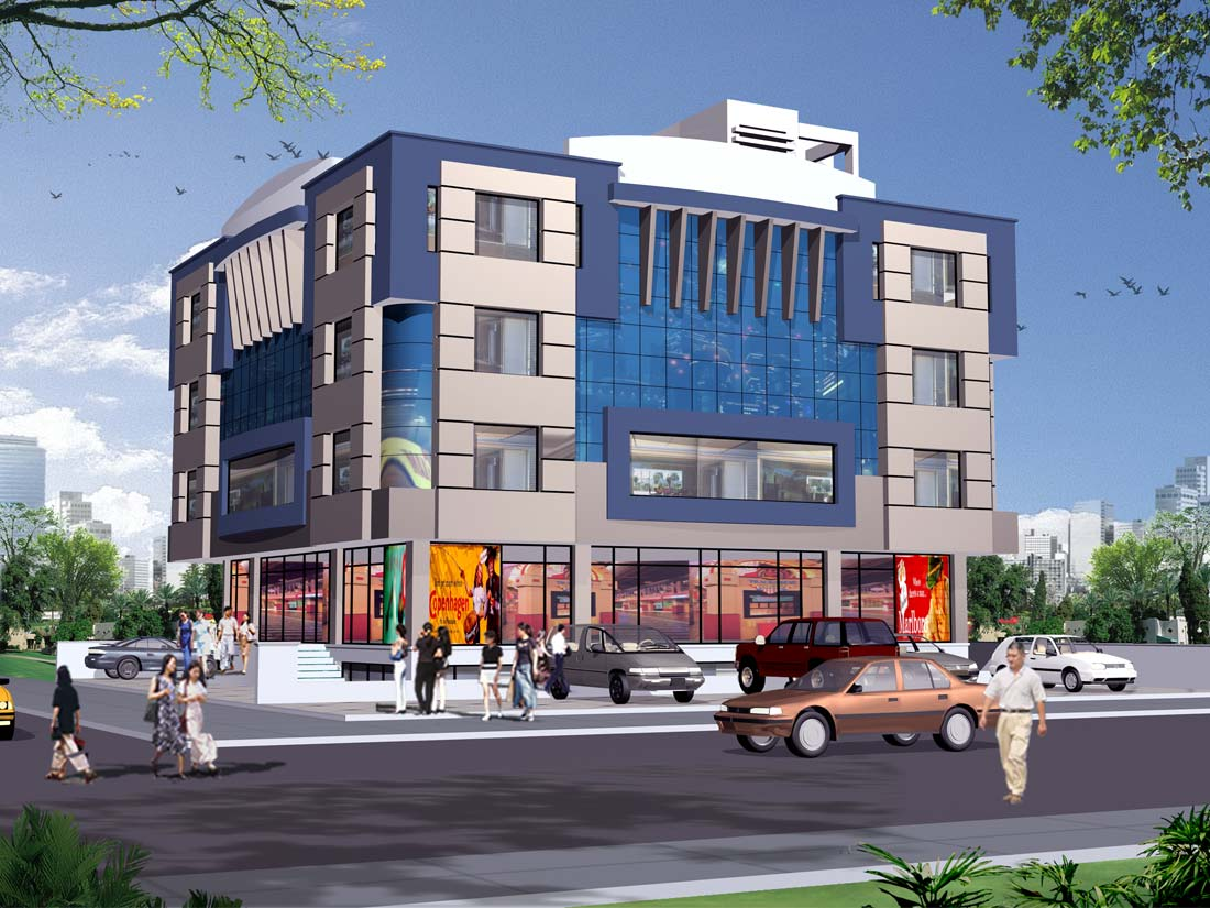 Offices commercial complex for sale on tonk road jaipur for Commercial building plans for sale