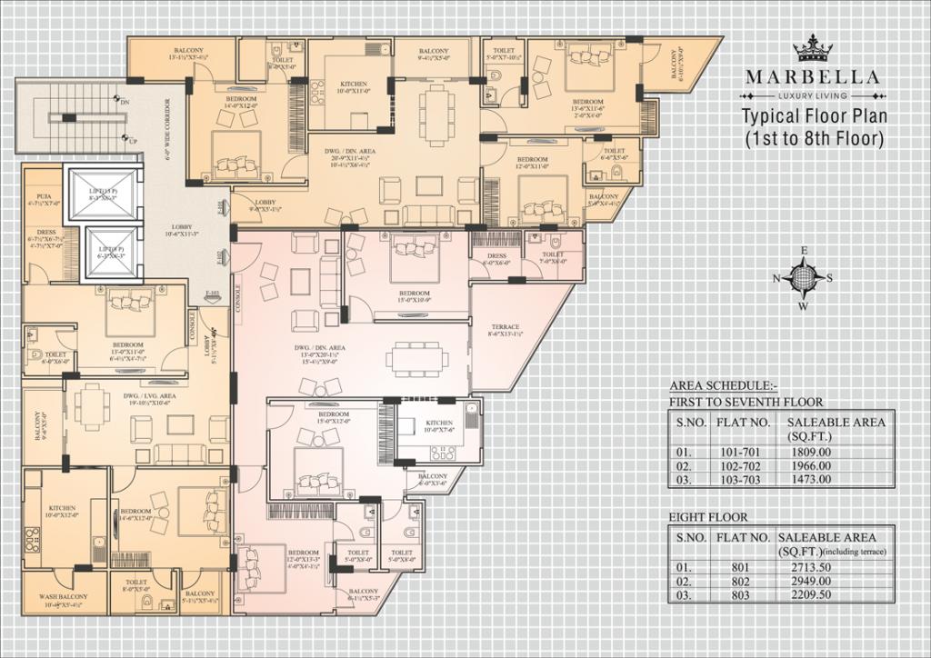 UDB Marbella - Floor Plan