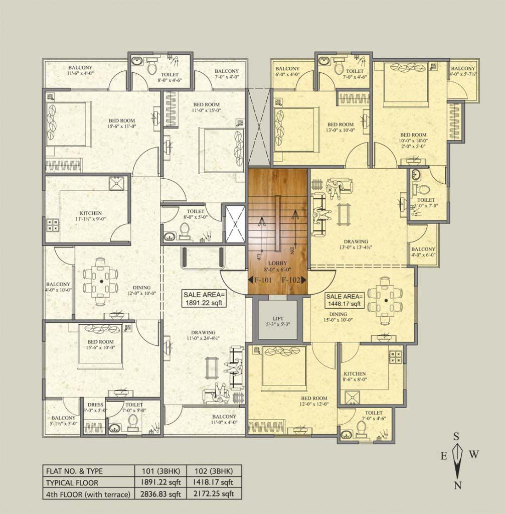 Karauli Mansion - Floor Plan
