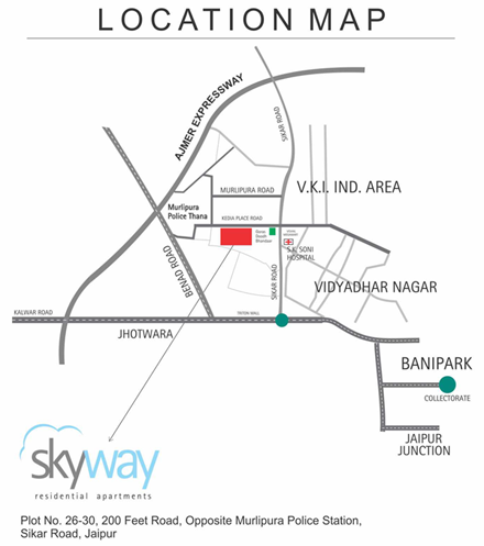 UDB Skyway - Location Map