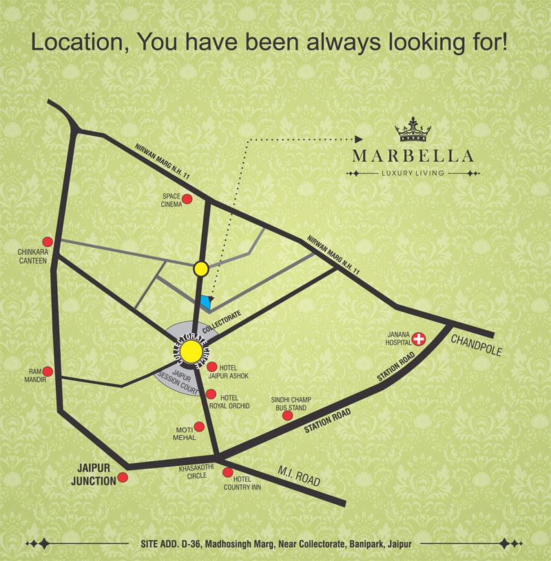 UDB Marbella - Location Map