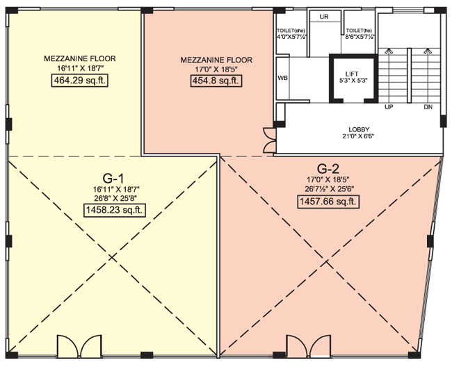 UDB Business Square - Floor Plan