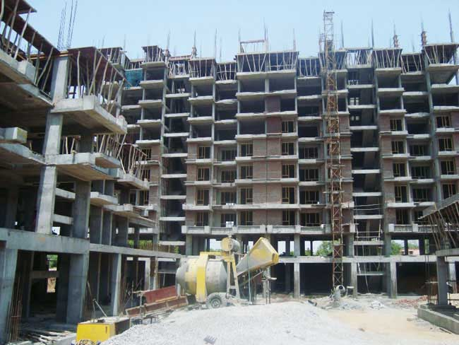 Unique Harmony Apartments - Building Construction