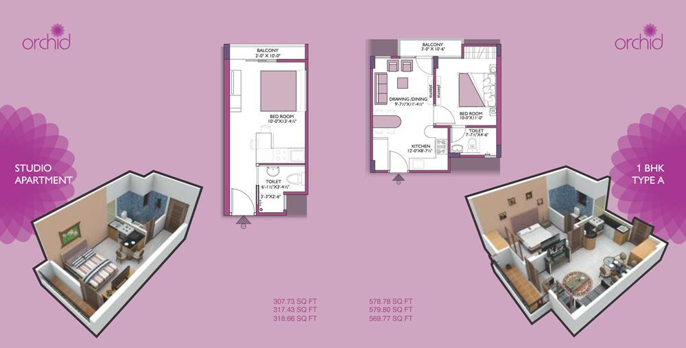 UDB Orchid - Floor Plan