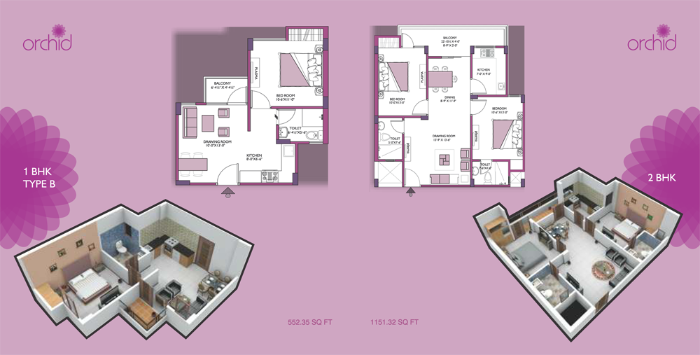 UDB Orchid - Floor Plan