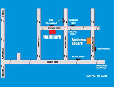UDB Hallmark - Location Map