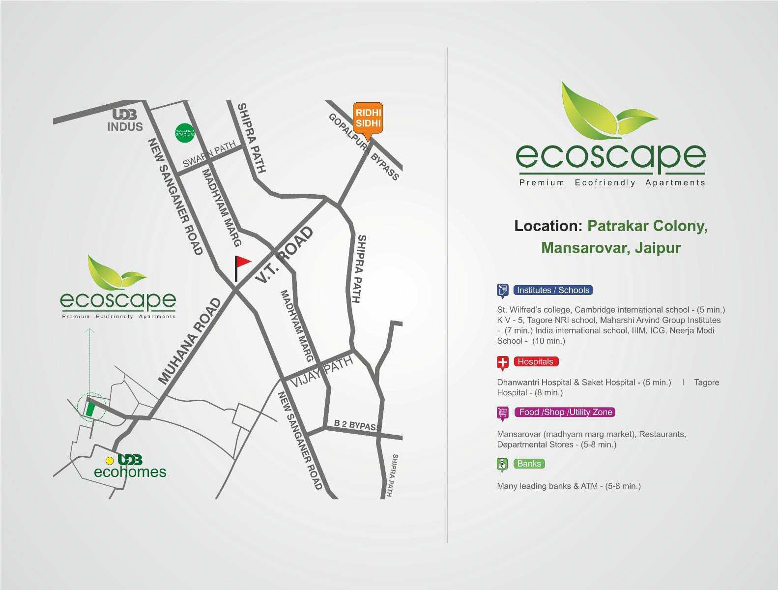 UDB Ecoscape - Location Map