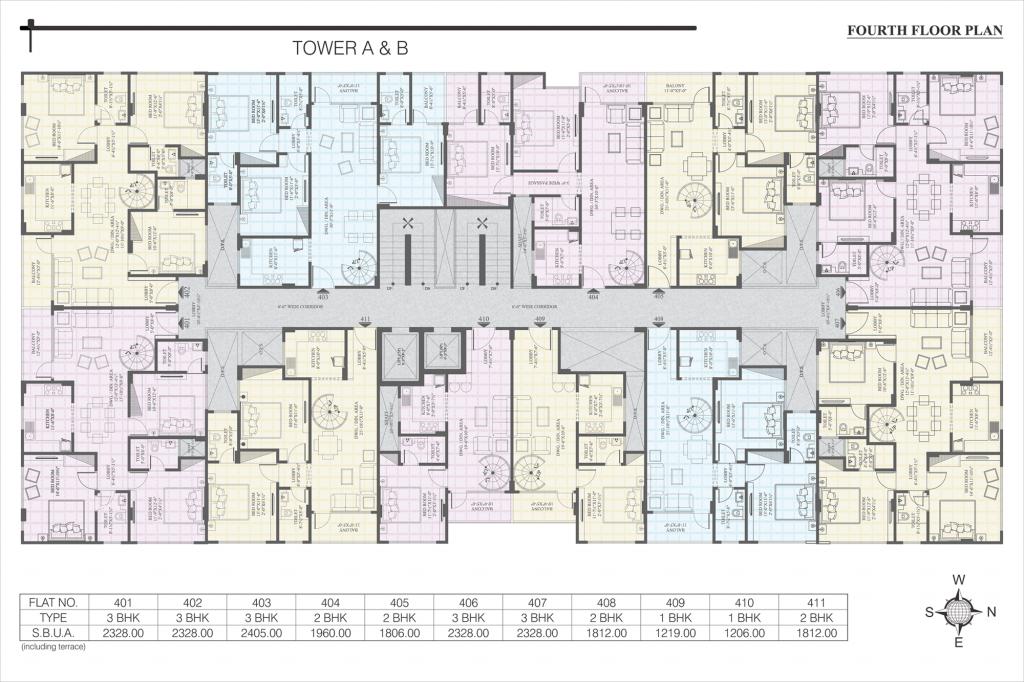 UDB Ecoscape - Floor Plan