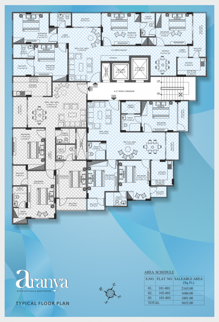 UDB Aranya - Floor Plan