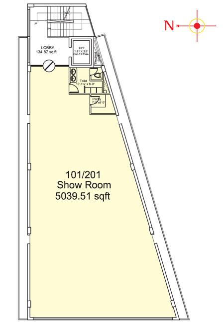 UDB Hallmark - Floor Plan
