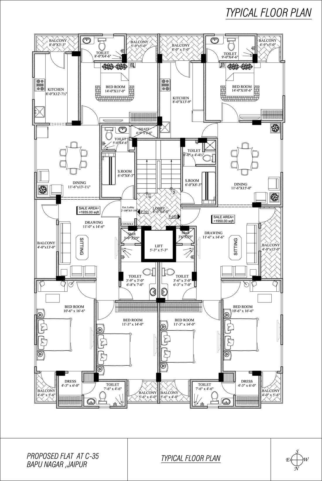 Yuvraj Residency - Floor Plan