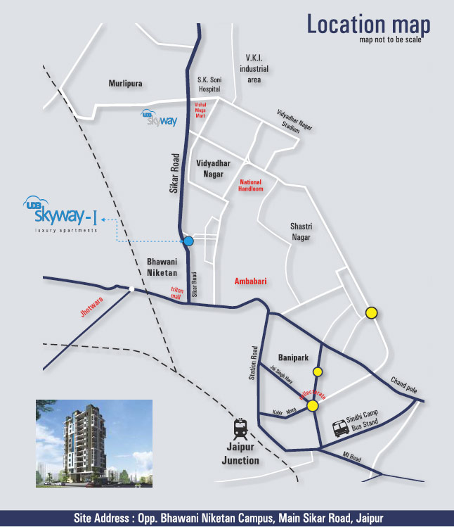 UDB skyway-Ⅰ - Location Map