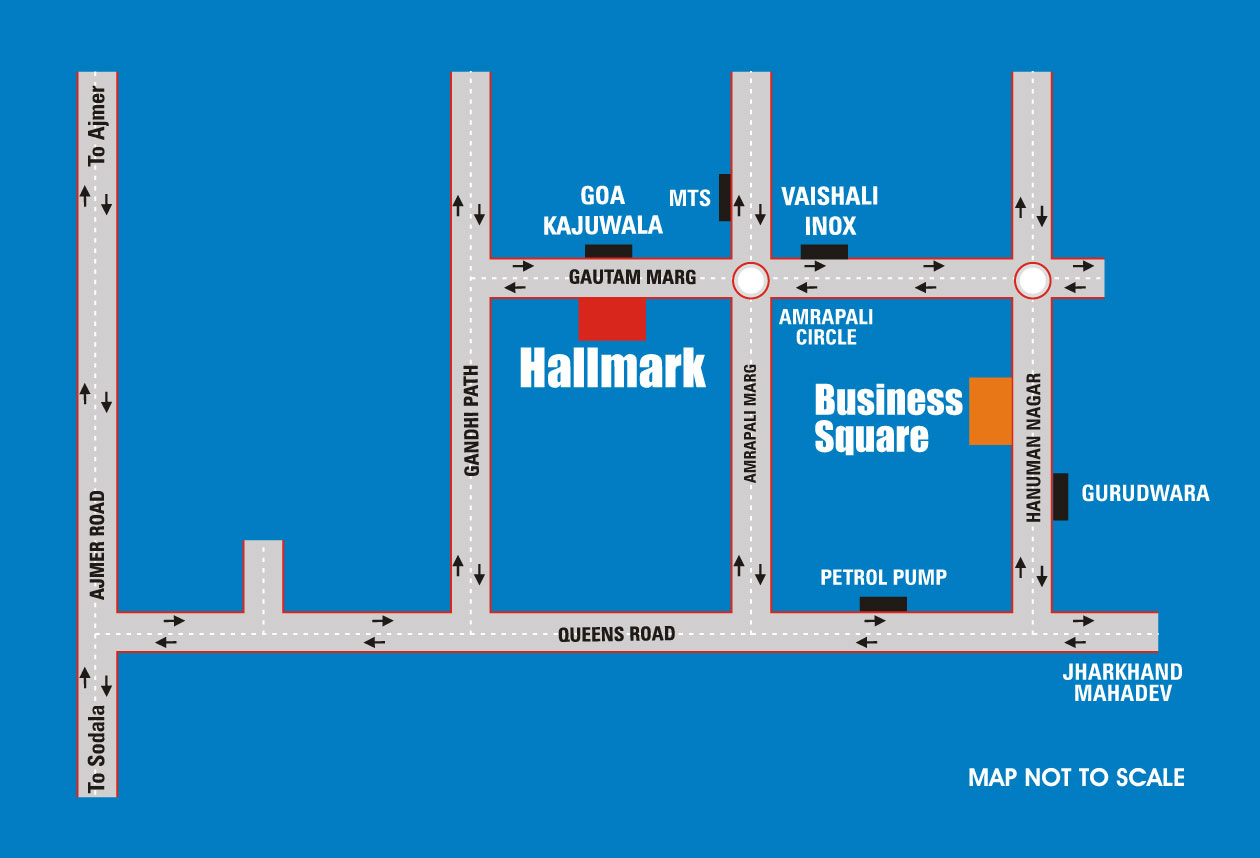 UDB Business Square - Location Map
