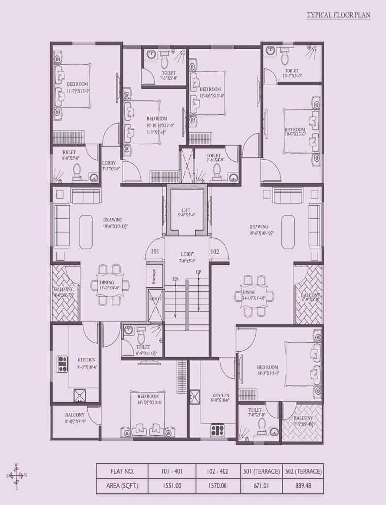 JS Divine - Floor Plan