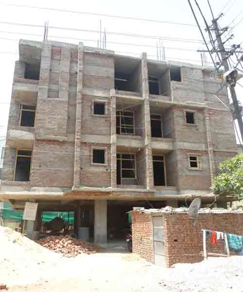 Yuvraj Residency - Building Construction