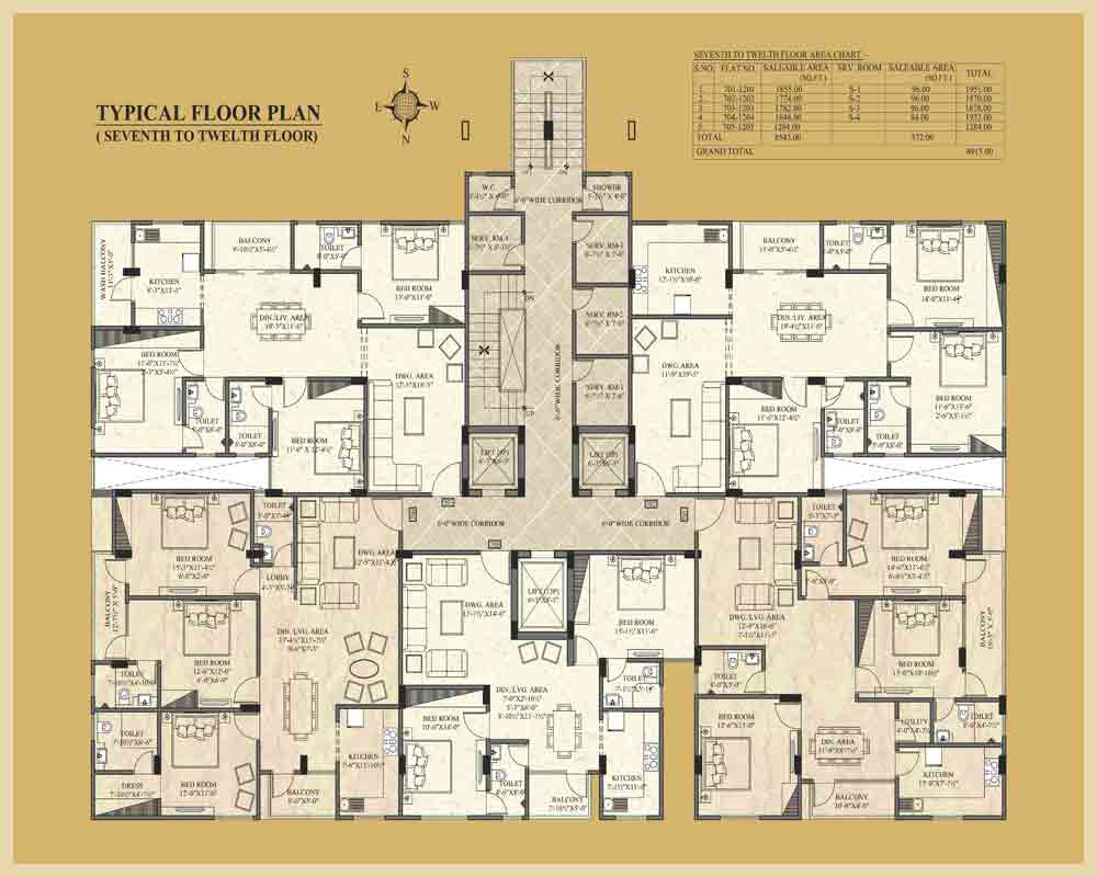 UDB Indus - Floor Plan