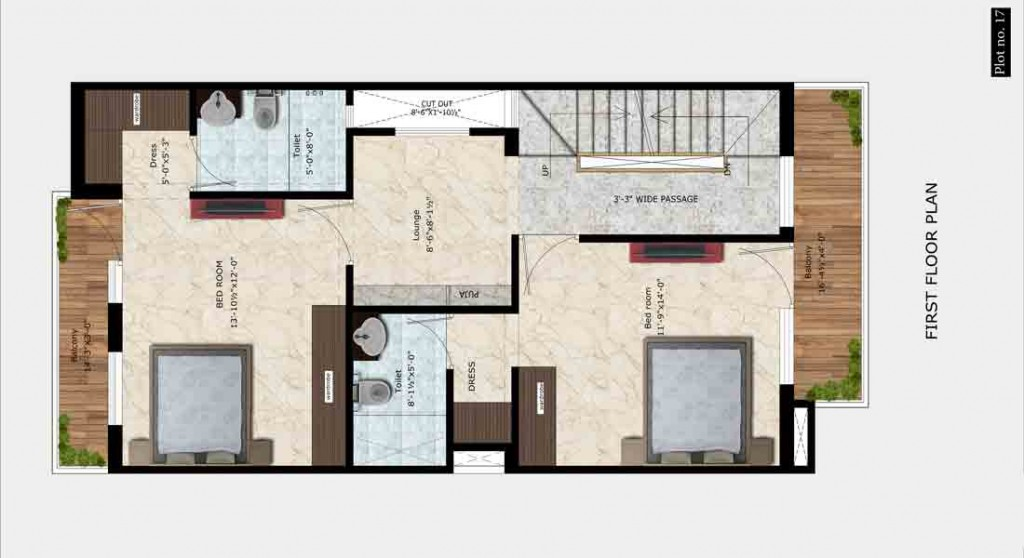 UDB Villa Grande - Floor Plan