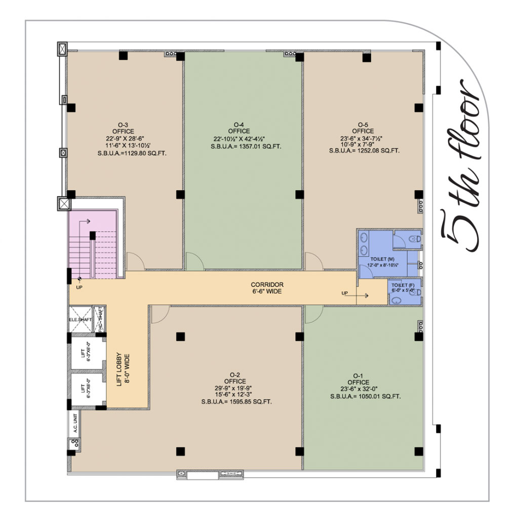 UDB Business Avenue - Floor Plan