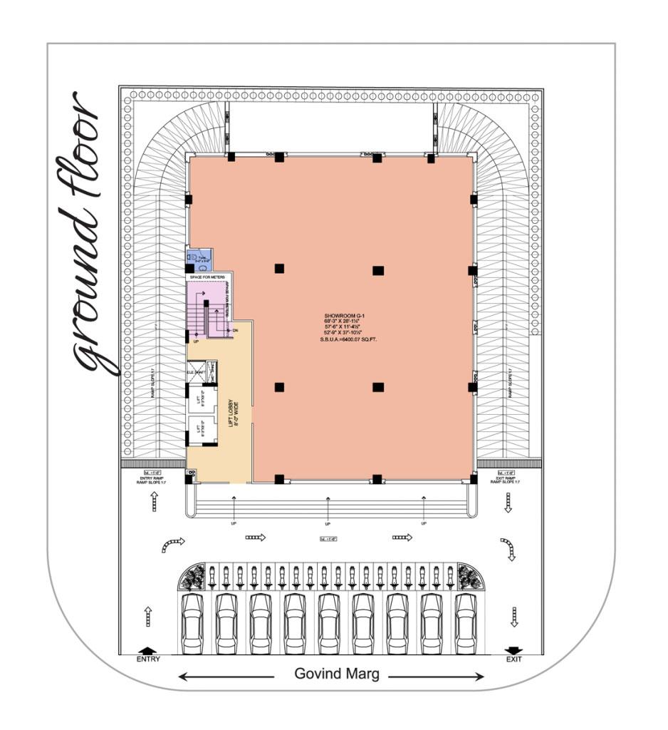 UDB Business Avenue - Floor Plan
