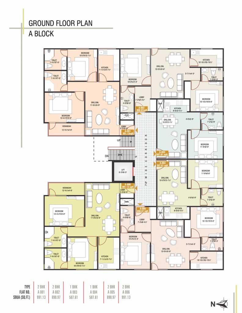 UDB Eco Homes - Floor Plan