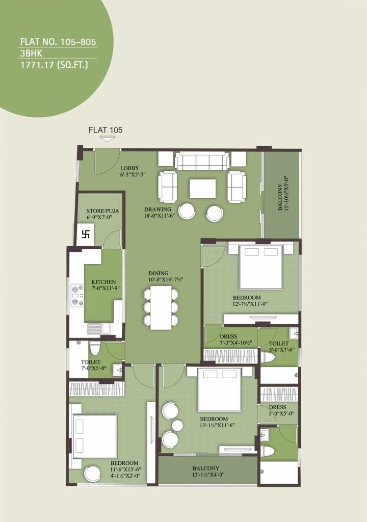 UDB Emerald - Floor Plan