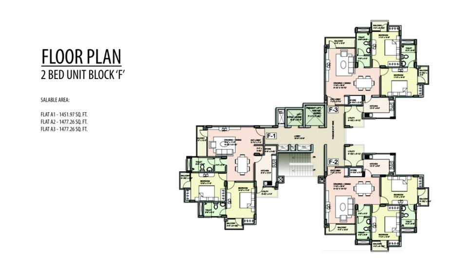 Unique Harmony Apartments - Floor Plan