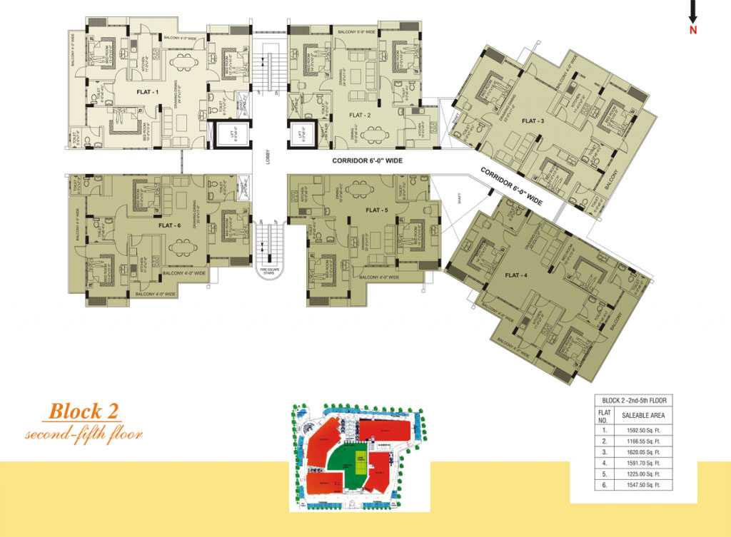 Southern Heights - Floor Plan