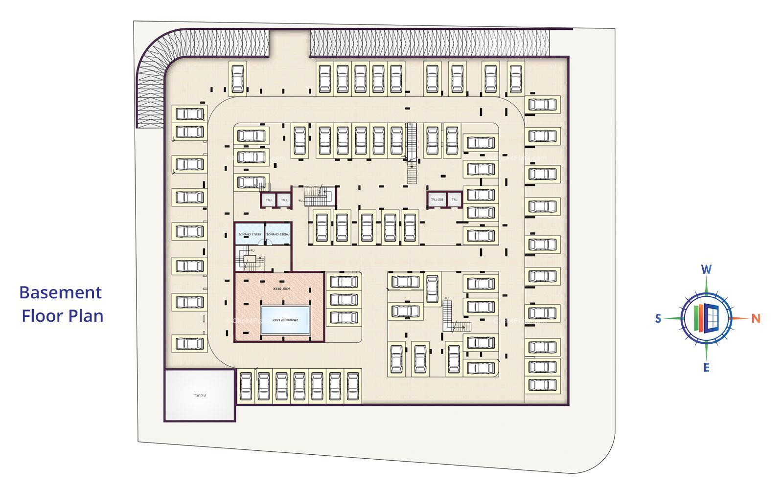 UDB Anmol - Floor Plan